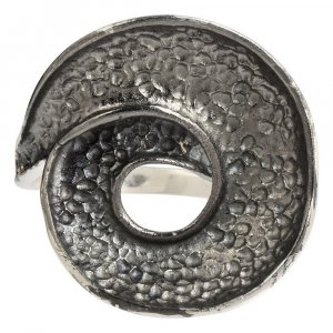 New Fashion Handmade Bohemian Gypsy Fashion Oxidized Silver Ring Jewelry