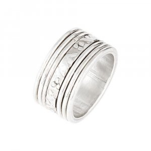 Handmade Oxidized Silver Beautiful Casual Daily Wear Band Ring Jewelry TR39US